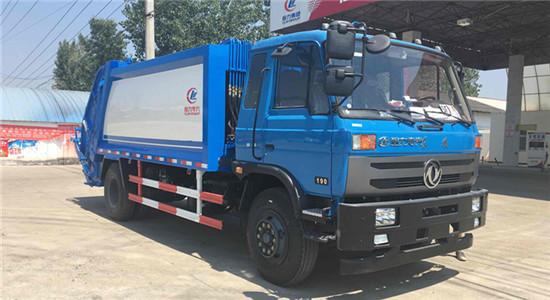 东风10-12方压缩式垃圾车(153)
