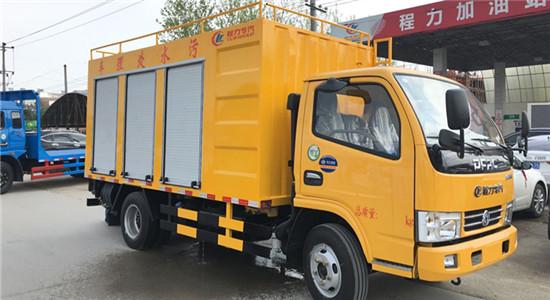 (蓝牌)东风小多利卡污水处理车