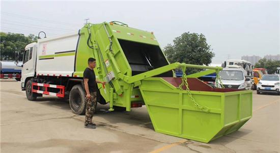 东风10-12方压缩式垃圾车(D9)