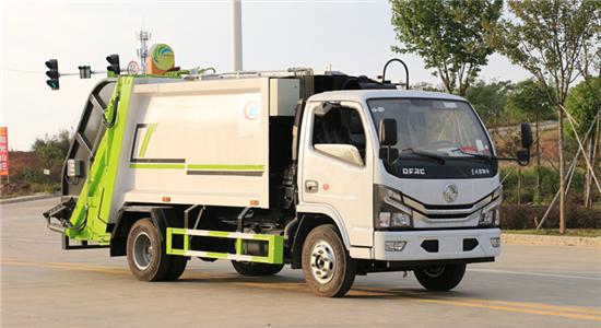国六5方压缩式垃圾车