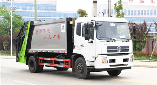 东风14方压缩垃圾车(天锦)