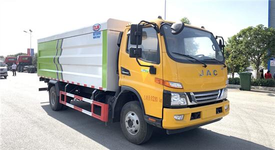 江淮21桶装垃圾车